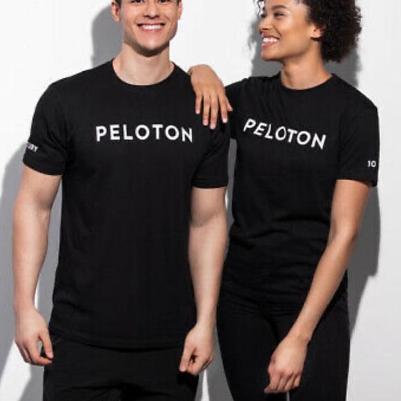 NEW Peloton Black T-shirt Century Club